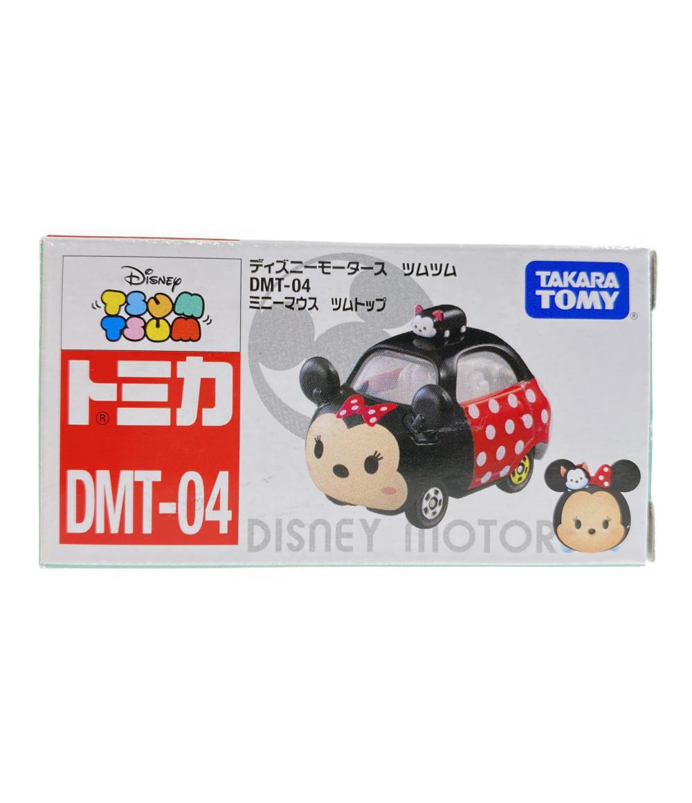 商舗 中古 美品 ディズニー おしゃれ ミニカー ツムツム トミカ ツムトップDMT04 タカラトミー ミニーマウス