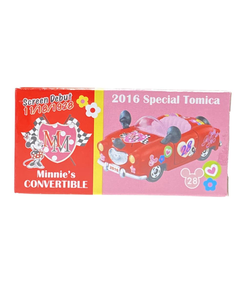 期間限定の激安セール 中古 美品 ディズニー トミカ 直営ストア 2016スペシャル ミニーズコンバーチブル ミニカー タカラトミー