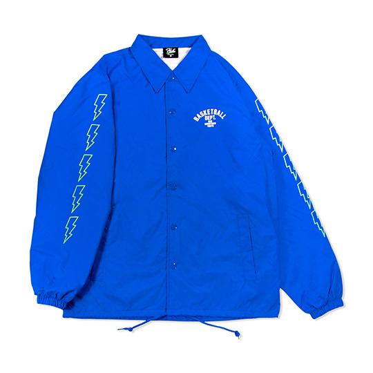 HXB Nylon Coach Jkt. 【DEPT.】BLUE ナイロンコーチジャケット バスケットボール