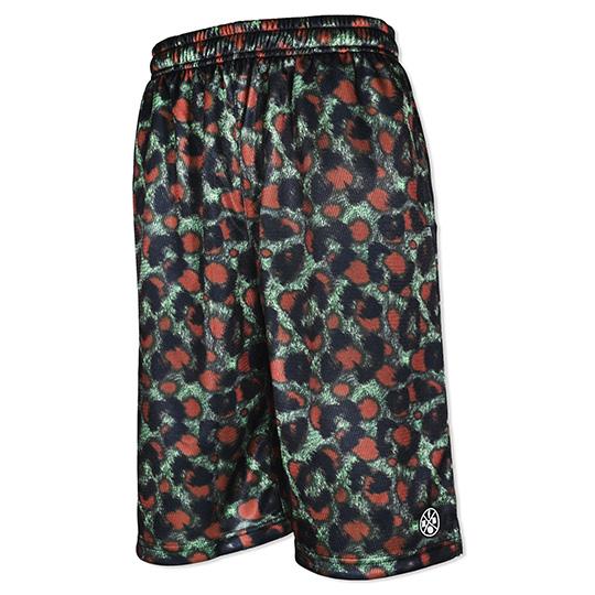 HXB Graphic Mesh Pants 【LEOPARD CAMO】 バスケットボールパンツ バスパン レオパード/ヒョウ柄