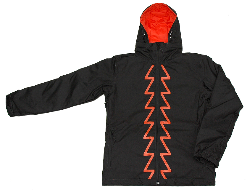 ★SALE!! 70% OFF!!★■ZenithAndNadir■[Zenith JKT ] BLACK/ORANGE