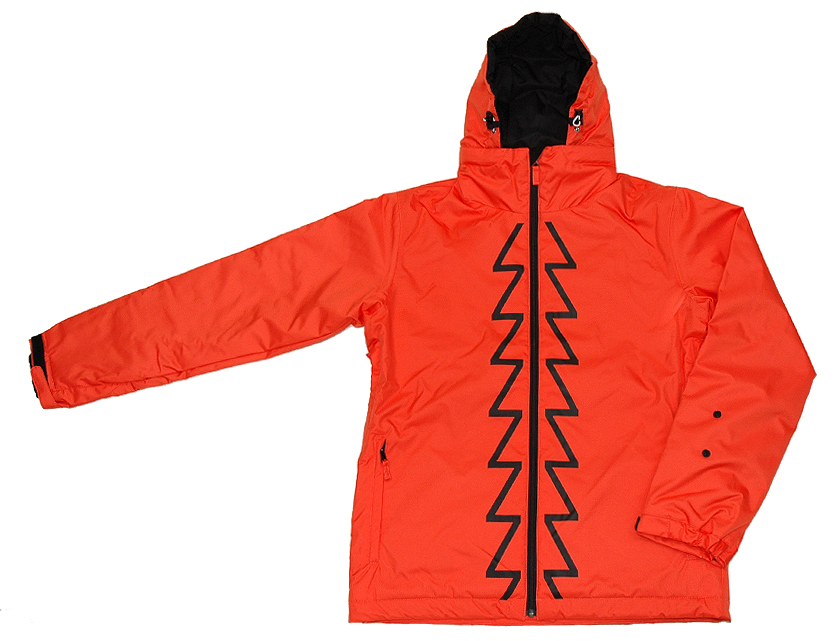 ★SALE!! 70% OFF!!★■ZenithAndNadir■[Zenith JKT ] ORANGE/BLACK
