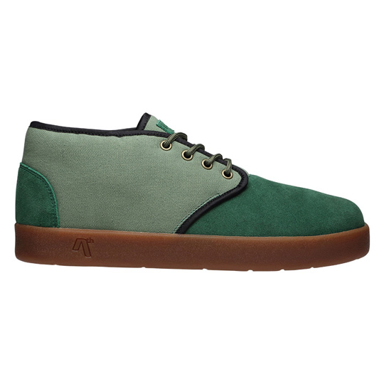 AREth Model【BULIT】GREEN & LT.GREEN スニーカー アース スケボー スケシュー スケート ファッション ストリート