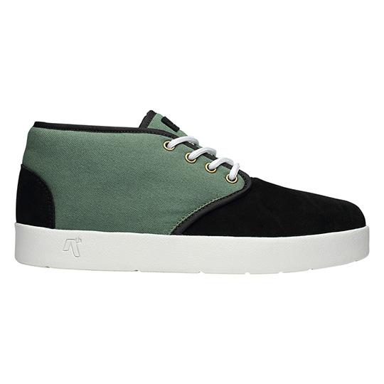 AREth Model【BULIT】BLACK/LT.GREEN スニーカー アース スケボー スケシュー スケート ファッション ストリート