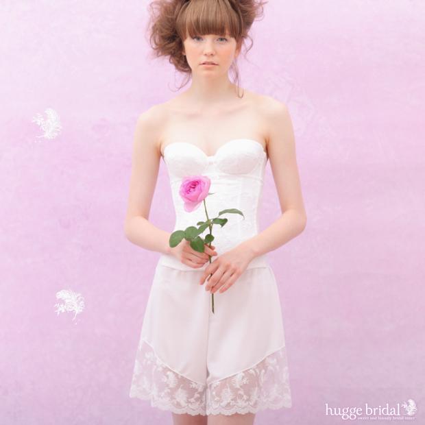 신혼 부부 이너 3 점 세트 브라 & 허리 집게 및 플레어 팬츠 (クラシカルリュクス)/브라 속옷 세트 웨딩 이너 웨딩 속옷 드레스 이너