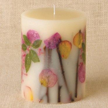Rosy Rings ロージーリングス Botanical candle キャンドル アプリコット&ローズ Big Round