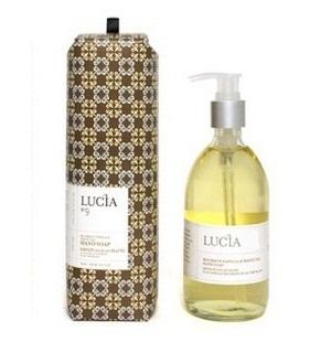 露西娅的肥皂 9 号波旁香草 & 白色茶手肥皂