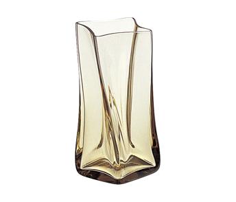 スガハラガラス sugahara ヘレンL タン 花瓶