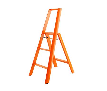 METAPHYS lucano Step Stool 3ステップ オレンジ はしご 脚立・踏み台