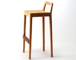 宮崎椅子製作所 R+R カウンターチェア 小泉誠デザイン Miyazaki Chair Factory Makoto Koizumi
