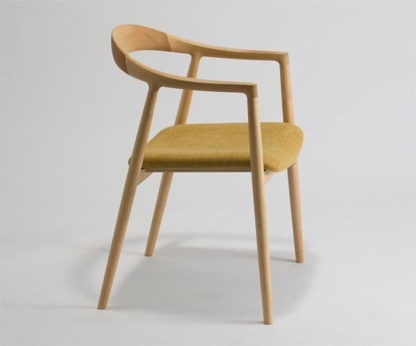 宮崎椅子製作所 hata(旗)ダイニングチェアー 吉永圭史デザイン Miyazaki Chair Factory