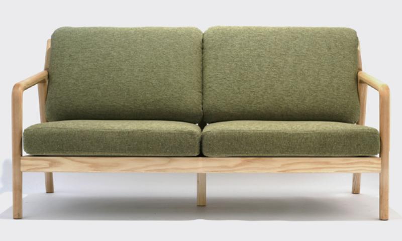 宮崎椅子製作所 pepe sofa 2P 村澤一晃デザイン Miyazaki Chair Factory Murasawa Kazuteru
