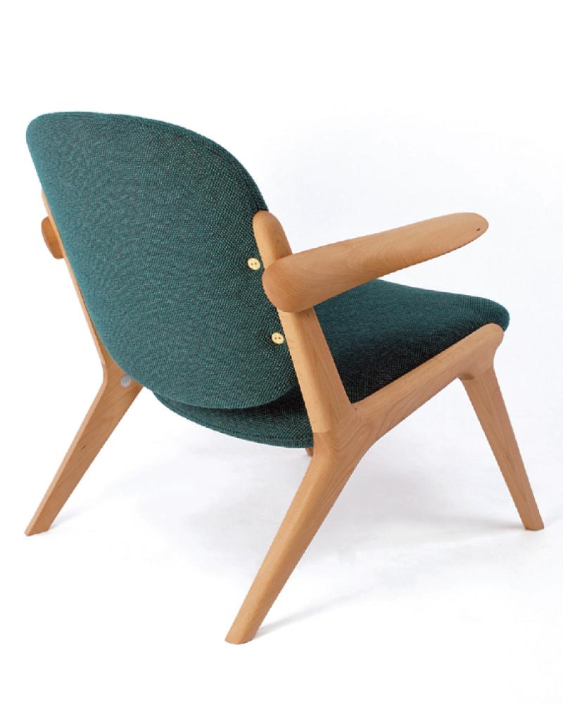 宮崎椅子製作所 ISラウンジチェア Miyazaki Chair Factory IS lounge (Inoda+Sveje)