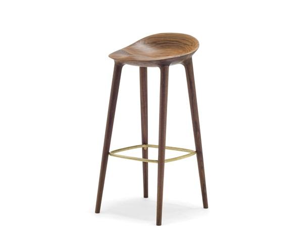 宮崎椅子製作所 BAR カウンターチェア Inoda+Sveje Design Studio Miyazaki Chair Factory