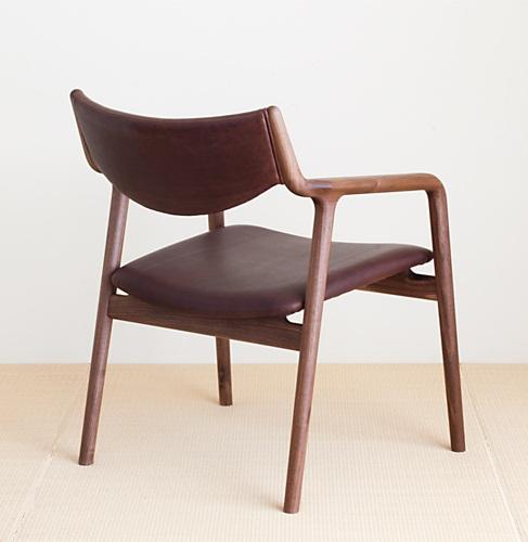 宮崎椅子製作所 pepe lounge ペペラウンジチェア 背布張り 村澤一晃デザイン Miyazaki Chair Factory Murasawa Kazuteru