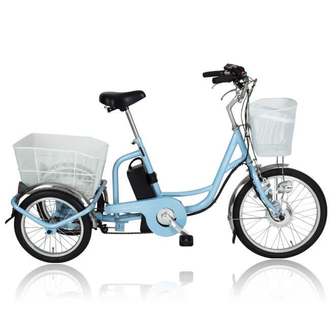 電動アシスト 三輪 自転車 MIMUGO MG-TRM20EB [直送品]