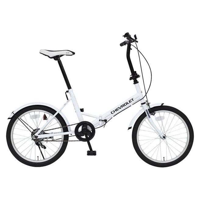 MG-CV20E CHEVROLET FDB20E シボレー 折りたたみ自転車 【20インチ フェンダー付き 折畳自転車 】[直送品]