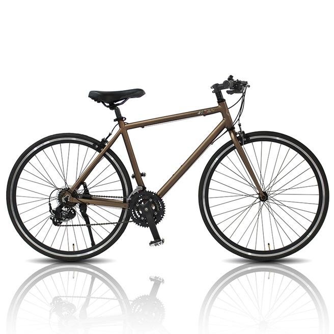 TRAILER 700Cアルミクロスバイク21段変速 自転車 男女兼用 アルミフレーム クロスバイク TR-C7005 [直送品]