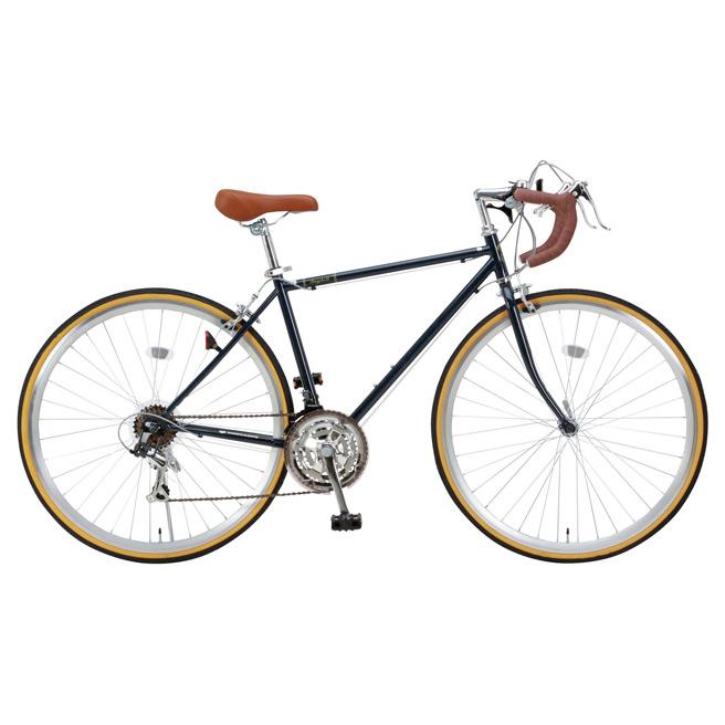 Raychell ロードバイク 700c 21段変速 自転車 RD-7021R 初心者におすすめ スタンド付 ドロップハンドル グリーン レイチェル [直送品]