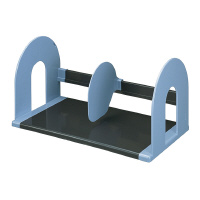 仕切板は自由に調節できる可動式 本の厚みや収容量に合わせて任意の位置でお使いいただけます コクヨ 限定特価 特価キャンペーン ブックスタンド BS-122NB 大 青