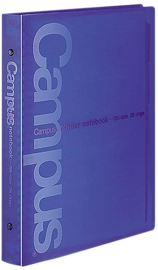 書類をしっかり固定する SALENEW大人気 丈夫な金属とじ具を採用 表紙ととじ具は分別廃棄できます 当店限定販売 コクヨ バインダーノートB526穴 ル-633NB