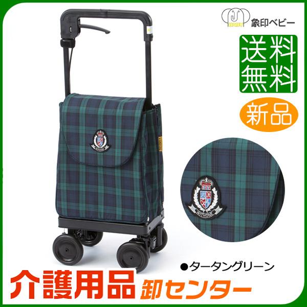 シルバーカー 【象印ベビー キャリーライト SN】 ショッピングカー 折りたたみ 日本製 送料無料