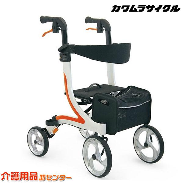 歩行器 【カワムラサイクル 四輪歩行器 KW40】 歩行器 介護 KAWAMURA 送料無料