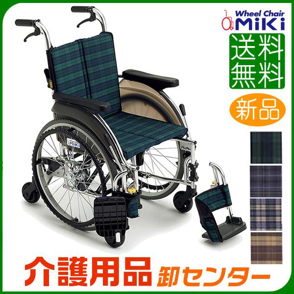 車椅子 折り畳み 【MiKi/ミキ Skit(スキット)六輪車 SKT-5】 自走介助兼用 六輪 6輪 コンパクト 車いす 車椅子 車イス 送料無料
