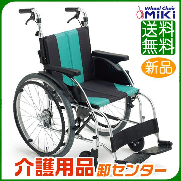 車椅子 折り畳み 【MiKi/ミキ すUR-1】 自走式 車いす 車椅子 車イス 押し手高調整 送料無料
