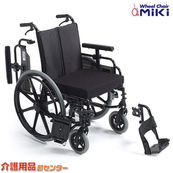 車椅子 折り畳み 【MiKi/ミキ KJP-4】 自走介助兼用 車いす 車椅子 車イス ワイド 送料無料