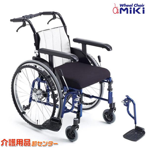 車椅子 折り畳み 【MiKi/ミキ LILAC STANDARD ライラック・スタンダード】 自走介助兼用 車いす 車椅子 車イス 送料無料