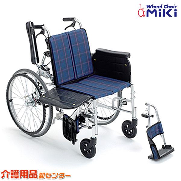 車椅子 折り畳み 【MiKi/ミキ ラクーネ2 LK-2】 自走介助兼用 車いす 車椅子 車イス 送料無料