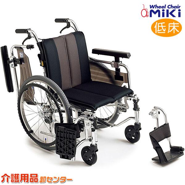 車椅子 折り畳み 【MiKi/ミキ MYU4シリーズ MYU4-OP】 自走介助兼用 車いす 車椅子 車イス 多機能 脚部スイングアウト 送料無料