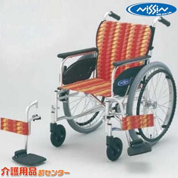 車椅子 折り畳み 【日進医療器 NA-400シリーズ FOtype NA-426FO】 自走式 車いす 車椅子 車イス 送料無料