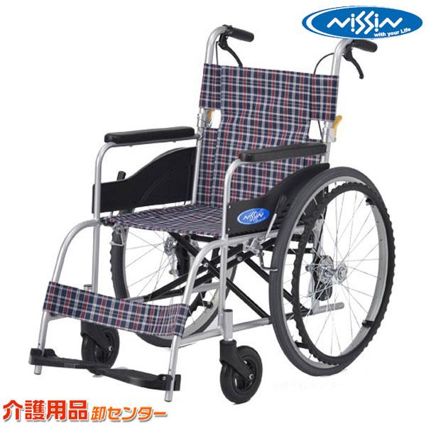 車椅子 送料無料 【日進医療器 車イス 自走介助兼用 車いす NEO-1】 車椅子