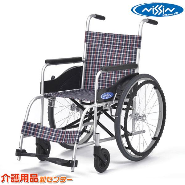 車椅子 軽量 折り畳み 【日進医療器 NEO-0】 自走式 車いす 車イス くるまいす 介護用品 お年寄り プレゼント 高齢者 老人ホーム 病院 介護施設 福祉用具 送料無料
