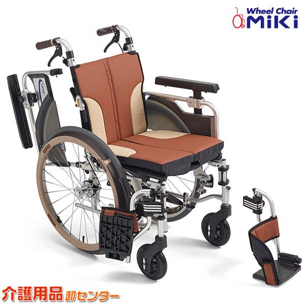 車椅子 折り畳み 【MiKi/ミキ Skit(スキット) SKT-1000】 自走介助兼用 車椅子 車いす 車イス くるまいす コンパクト 送料無料