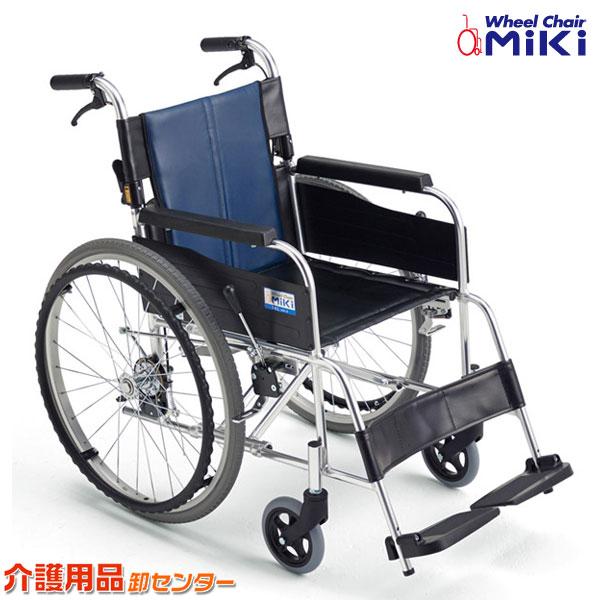 車椅子 軽量 折り畳み 【MiKi/ミキ BAL-1B】足踏み 連動式 駐車ブレーキ 自走介助兼用 車いす 車イス くるまいす アルミ製 送料無料 介助用 介護用品 お年寄り 軽量車椅子 折りたたみ 高齢者 老人ホーム 病院 おしゃれ 介護施設 福祉用具