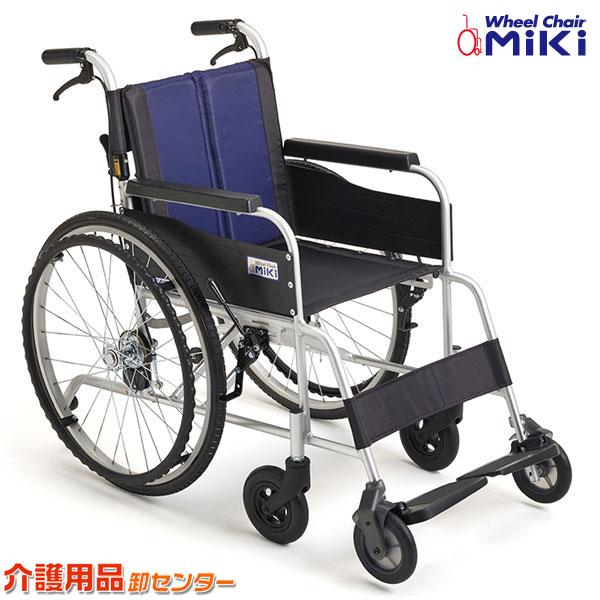 車椅子 【MiKi/ミキ イージースルー EST-1】自走介助兼用 自走式車椅子 介助ブレーキ付