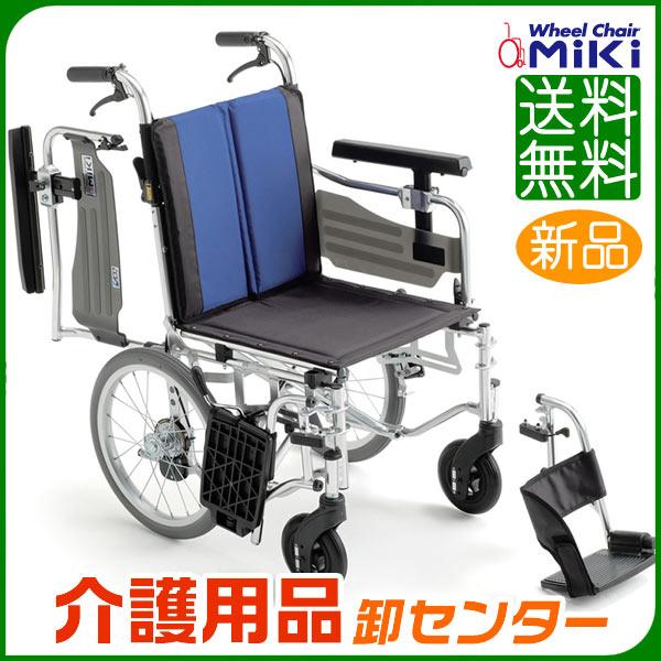車椅子 折り畳み【MiKi/ミキ BAL-6】介助式 車いす 車イス 多機能【送料無料】|介助用 介助式車椅子 介護用品 お年寄り プレゼント 介助式車いす 折りたたみ 高齢者 老人ホーム 病院 おしゃれ 介護施設 福祉用具