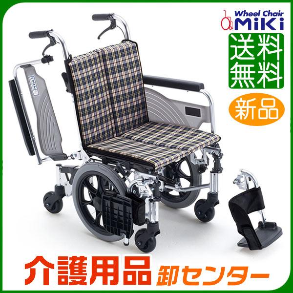 車椅子 折り畳み 【MiKi/ミキ Skit(スキット)六輪車 SKT-6】 介助式 六輪 6輪 コンパクト 車いす 車椅子 車イス 送料無料