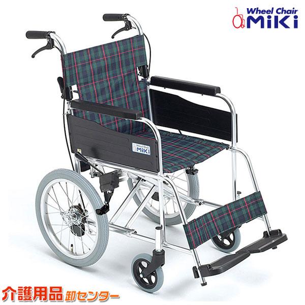 車椅子 軽量 折り畳み 【MiKi/ミキ M-1シリーズ MPCN-46JD】 介助式 車いす 車椅子 車イス 送料無料