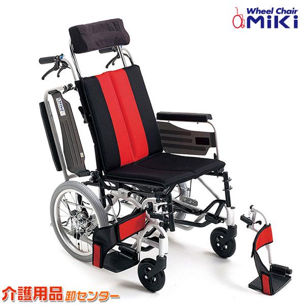 車椅子 折り畳み 【MiKi/ミキ MP-TiF HG】 介助式 ティルト 車いす 車椅子 車イス 送料無料