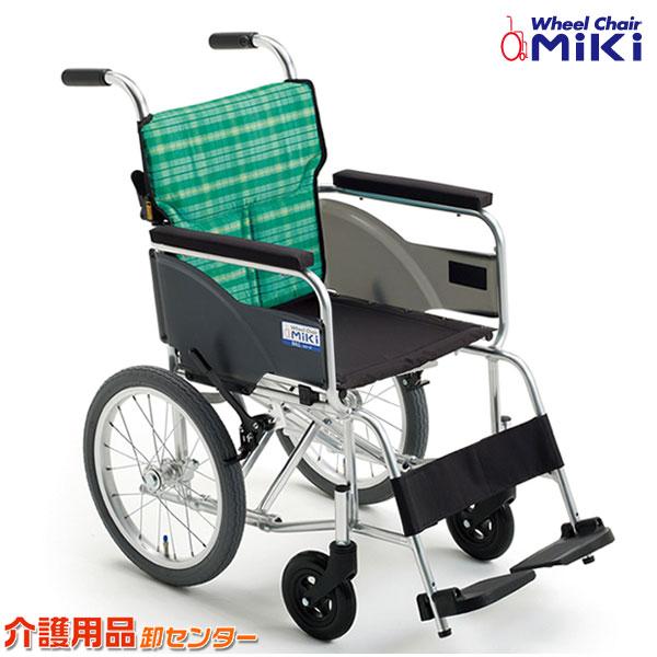 車椅子 軽量 折り畳み 【MiKi/ミキ BAL-8】 介助式 車いす 車椅子 車イス 送料無料
