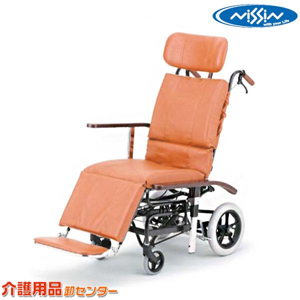 車椅子 送料無料 関連 最新 車いす 車イス 介護用品 日進医療器 フルリクライニング NHR-7シリーズ ティルト 買い取り 介助式 NHR-7 スチール製