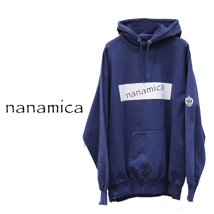 【SALE 30%OFF】nanamica(ナナミカ)HOODED PULLOVER(メンズ フーデッドプルオーバー) SUHF985