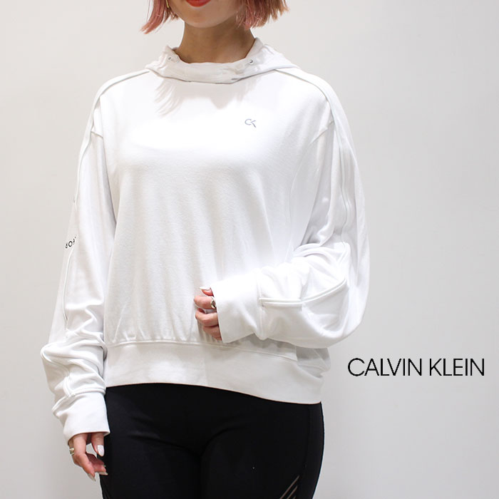 CALVIN KLEIN PERFORMANCE カルバンクラインパフォーマンス WS BK ZIP HOOD PULLOVER 4WF9W375