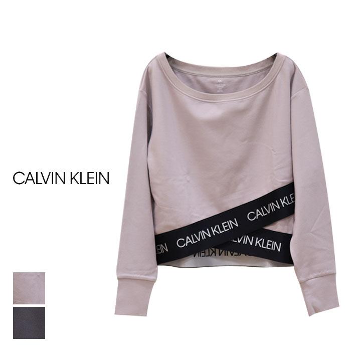 CALVIN KLEIN PERFORMANCE カルバンクラインパフォーマンス ACTIVE ICON ラップオーバーヘム スウェットシャツ 4WS0W397