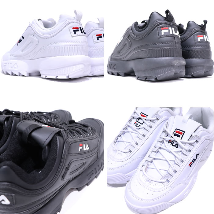 FILA (Fila) DISRUPTOR 2 (ディスラプター 2) regular store men thickness bottom sneakers running shoes light weight トレーニングマラソンダッド
