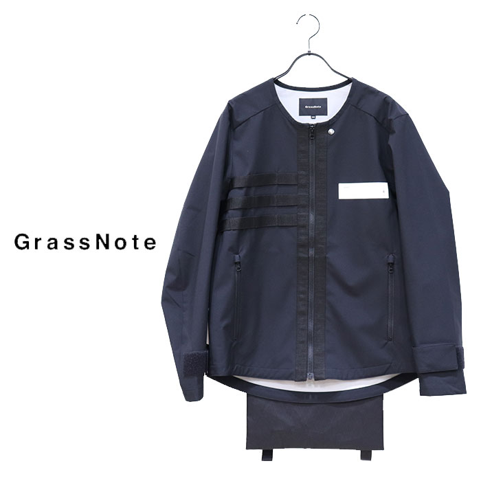 【SALE 30%OFF】GRASSNOTE(グラスノート)メンズ 3L TECHNICAL JACKET GNM-OTBL1009